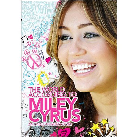 Infinity Resources Cyrus M World According To Miley Cyrus  Dvd