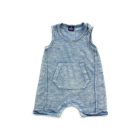 Baby Boy's Mineral Wash Romper (Nike Baby Clothes)