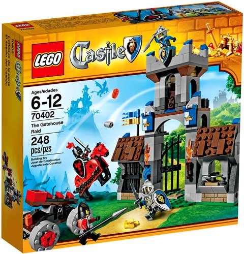 Castle The Gatehouse Raid Set LEGO 70402