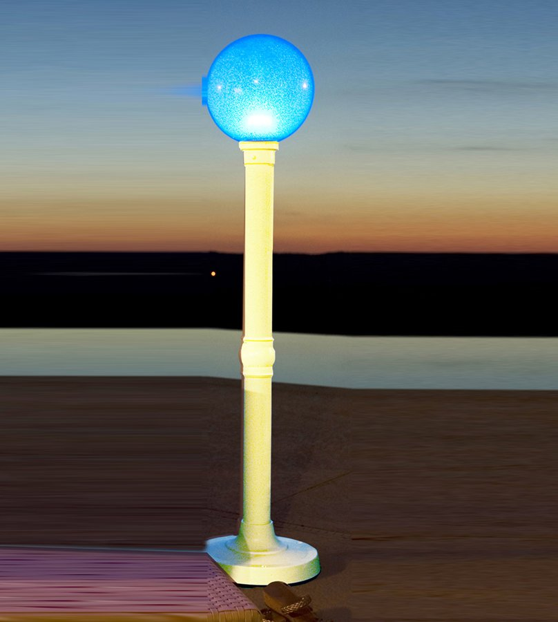 Patio Living Concepts LED Color Changing Cordless Outdoor Lamps 59 Inch Portable Color Changing LED Floor Lamp by Patio Living Concepts