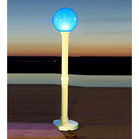 Patio Living Concepts Led Color Changing Cordless Outdoor Lamps 59 Inch Portable Floor Lamp