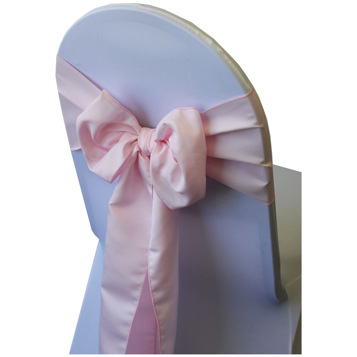 Your Chair Covers - Lamour Chair Sashes Blush Peach (Pack of 10)
