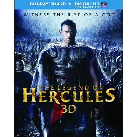 The Legend Of Hercules (3D Blu-ray + Blu-ray + Digital HD) (Movie Hercules 2017)