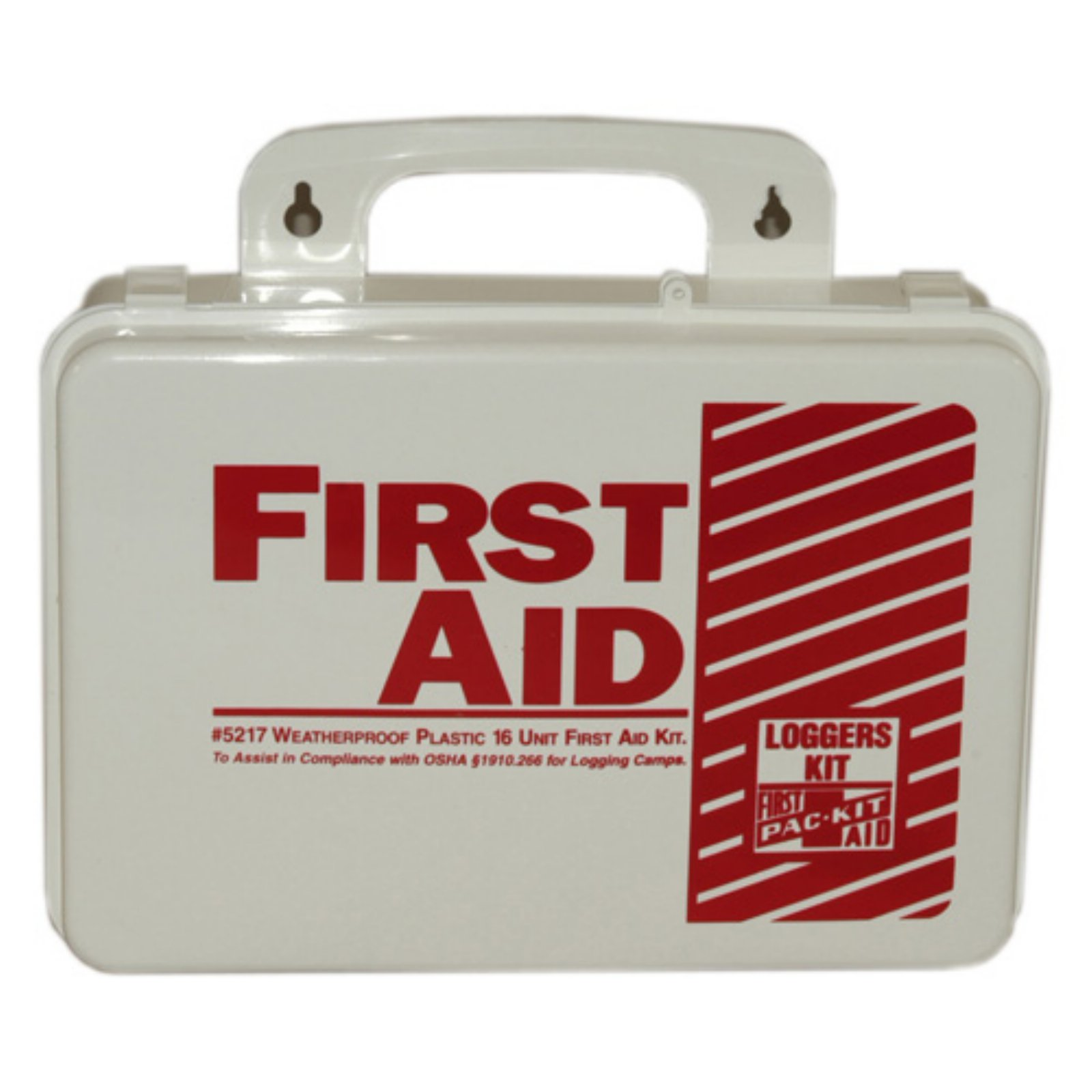 Pac-Kit Loggers Plastic First Aid Kit