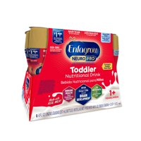 Enfagrow NeuroPro Toddler Nutritional Drink, Natural Milk Flavor - Ready to Drink Liquid, 8 fl oz Bottles (24 Pack)