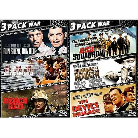 6 Pack War Movies Walmart Com