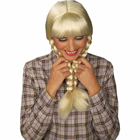 Inga from Sweden Wig Adult Halloween Costume Accessory
