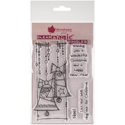 """Woodware Clear Stamps 3.5""""X5.5"""" Sheet-Christmas Bells"""