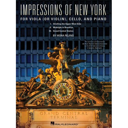 Impressions of New York : For Viola (or Violin), Cello and Piano