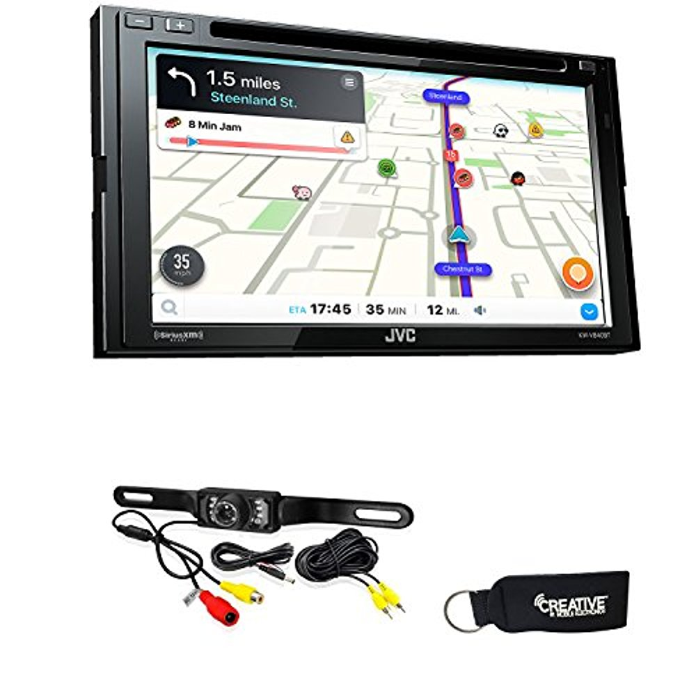 JVC KW-V840BT compatible with Android Auto / CarPlay CD/DVD with back up camera