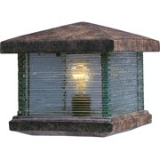 Maxim 48736Cl 1 Light Up Lighting Deck Lantern From The Triumph Vx Collection