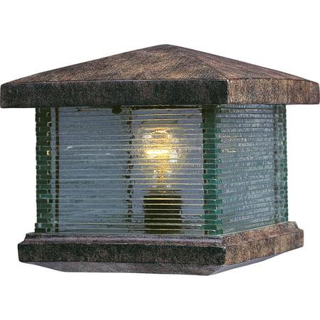 Maxim Lighting 48736CLET Triumph VX Deck Light, Earth Tone