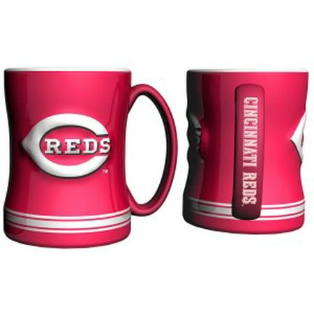 Cincinnati Reds Coffee Mug - 15oz Sculpted - image 1 de 1