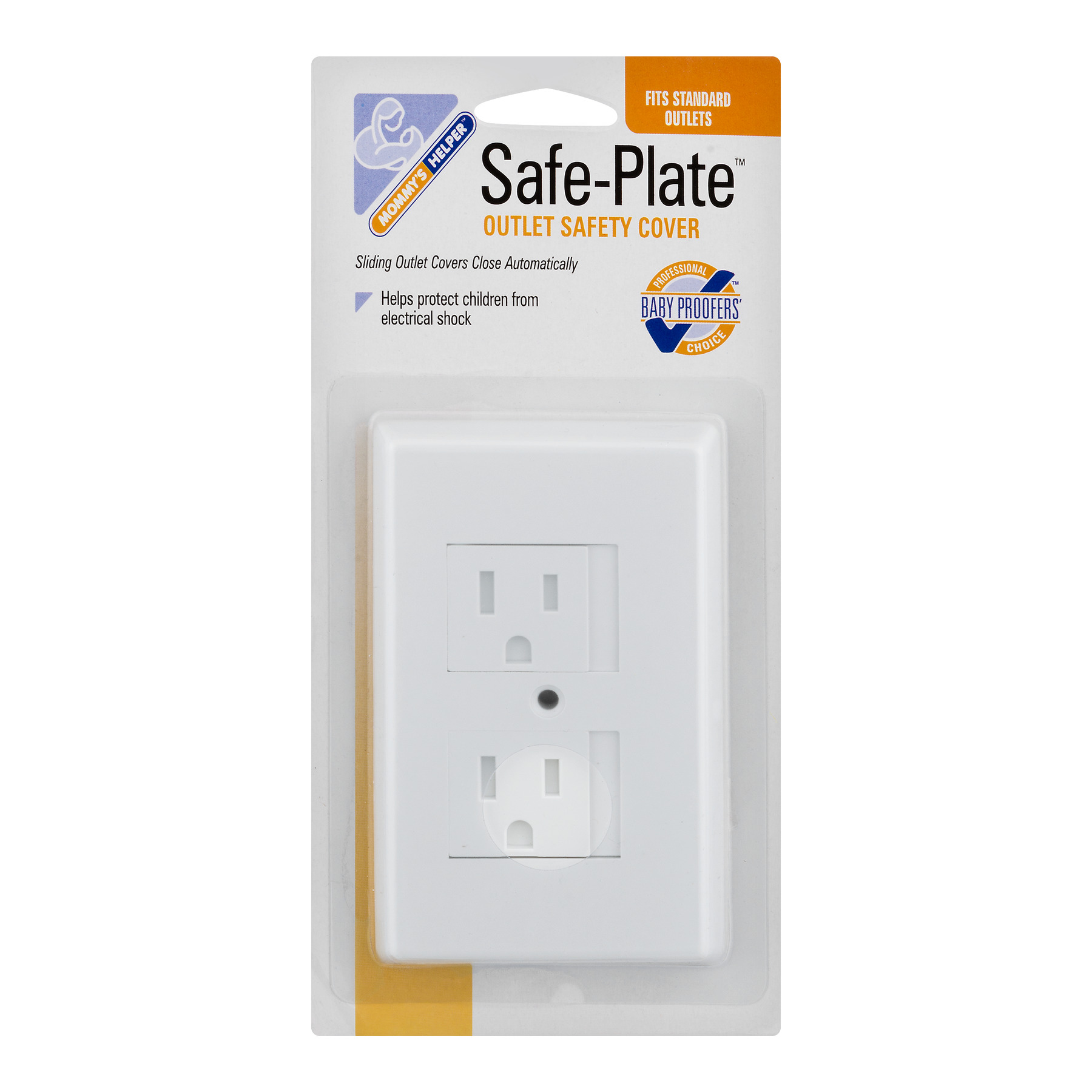 Mommy's Helper Safe-Plate Outlet Safety Cover, 1.0 CT