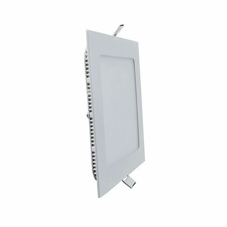 The Light Factory (LED Light 12W Small Panel Light Warm White Square Two Pack LED Factory Light Panel Light )
