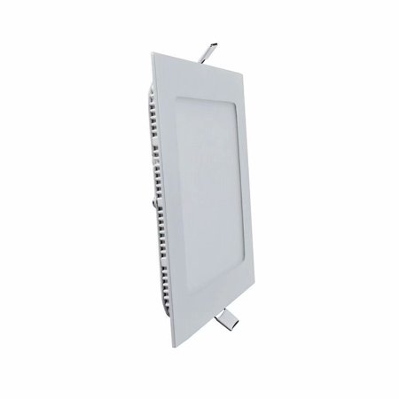 The Light Factory (LED Light 9W Small Panel Light Warm White Square Two Pack LED Factory Light Panel Light )