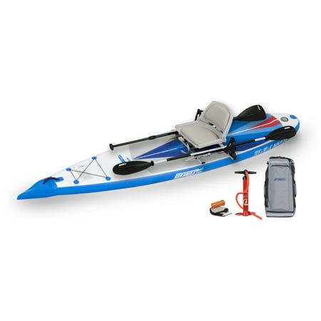 Sea Eagle NN126 NeedleNose Inflatable SUP - Swivel Seat Fishing Rig Package