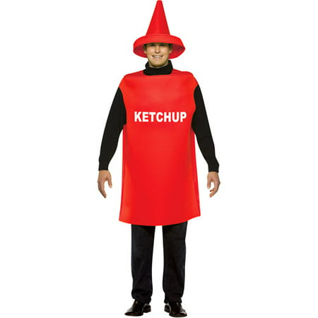 Ketchup Adult Halloween Costume - One Size