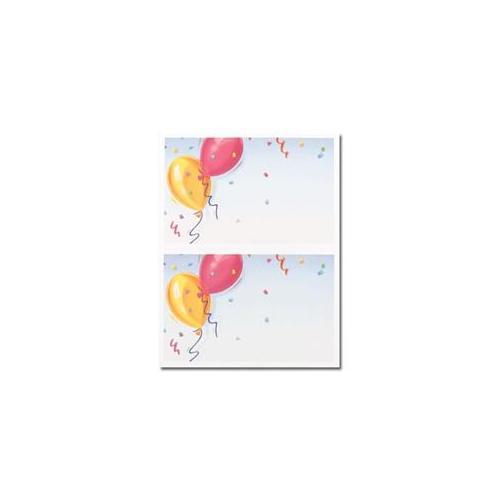 Masterpiece Studios 904245 Balloons 2 Up Invitation- 16 Invitations