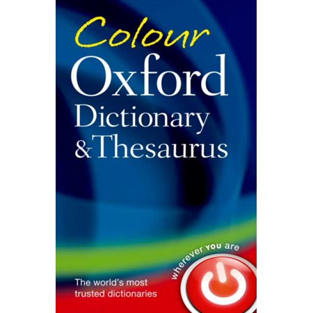 Colour Oxford Dictionary   Thesaurus