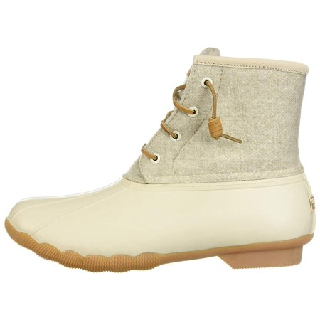 09d2892a2d1bb Sperry Saltwater Emboss Wool Rain Boots, Off White - image 2 of 2 ...