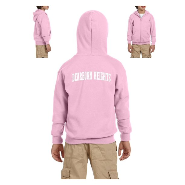 Michigan Youth Full-Zip Hooded Sweatshirt