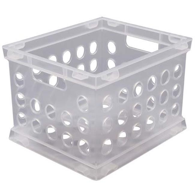 Sterilite Small Storage Crate  16958612 - Pack of 12