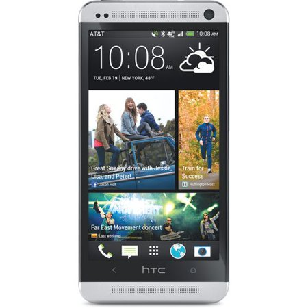 Refurbished HTC One M7, Silver 32GB (AT&T) ()