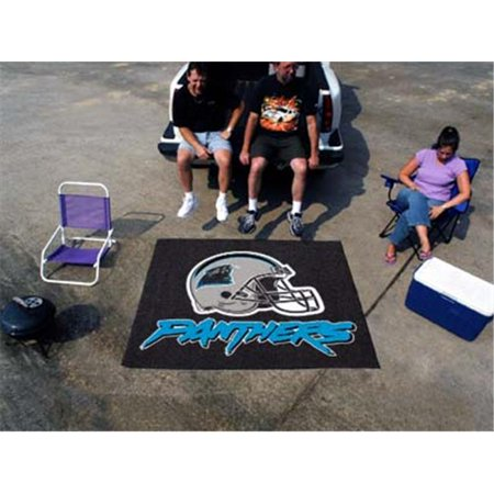 (FANMATS 5700 Carolina Panthers Tailgater Rug 60 in.72 in.)