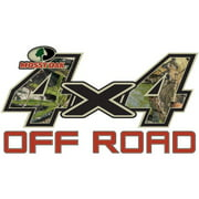 Mossy Oak Graphics 13001-OB-S Obsession 7 x 3.75 4x4 Off-Road Style Decal Multi-Colored