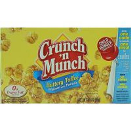 Buttery Flavor (Product Of Crunch N Munch, Popcorn Peanuts Buttery Toffee, Count 1 - Popcorn / Grab Varieties & Flavors )