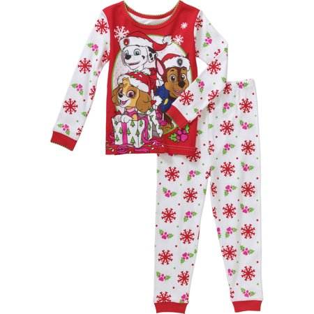 Nickelodeon - Paw Patrol Christmas Holiday Baby Toddler Pajamas Sleepwear -  Walmart.com ac14e10b4