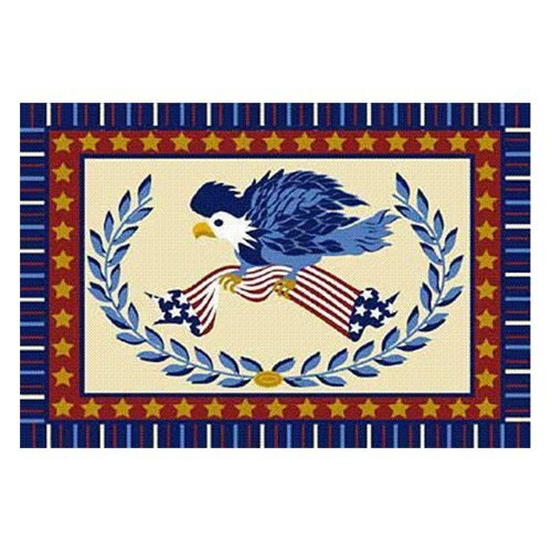 L.A. Rugs American Eagle Area Rug