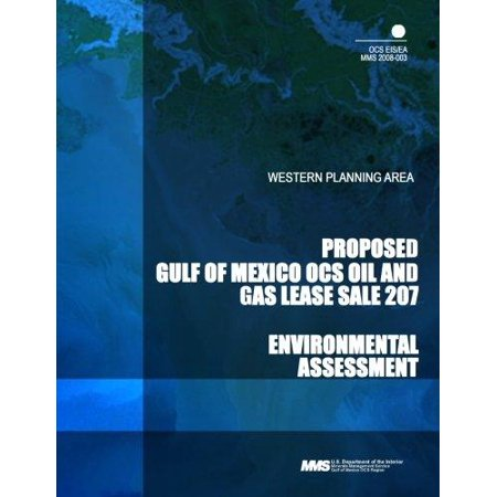 Proposed Gulf Of Mexico Ocs Oil And Gas Lease Sale 207  Western Planning Area