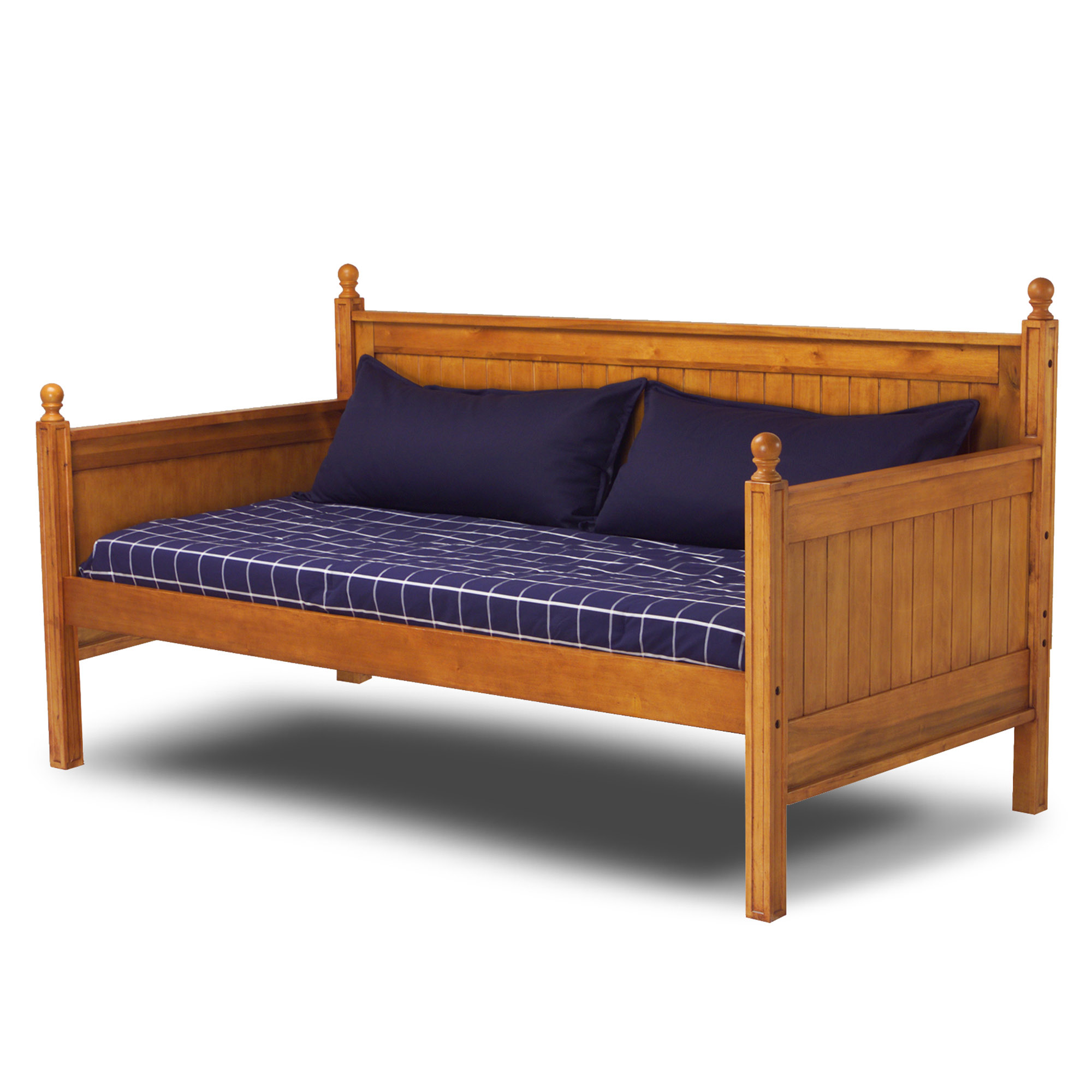 Fashion Bed Group Casey II Wood Twin Daybed, Honey Maple