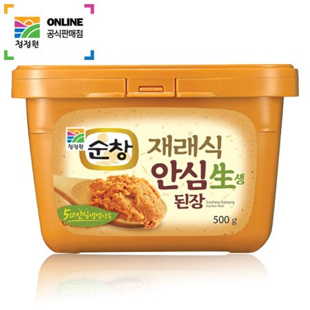 Soy Paste (chungjungone Sunchang Doenjang(Soy Bean Paste) 500g K-FOOD )