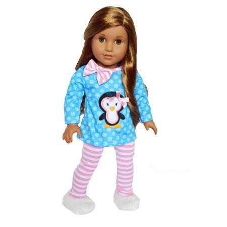 Gymboree Snowflake (My Brittany's Snowflake Penguin Doll Clothes Fits American Girl Dolls and My Life as Dolls-18 Inch Doll Clothes )