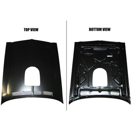 Golden Star HO11-701 Trans Am Hood  With Shaker Hole