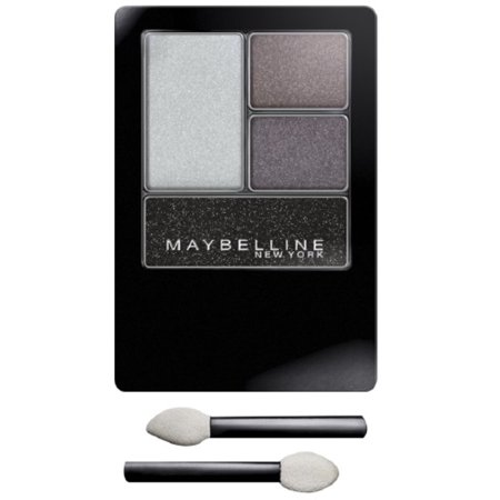 Maybelline New York Expert Wear Quads Eyeshadow, Charcoal Smokes [04Q] 0.17 oz (Pack of