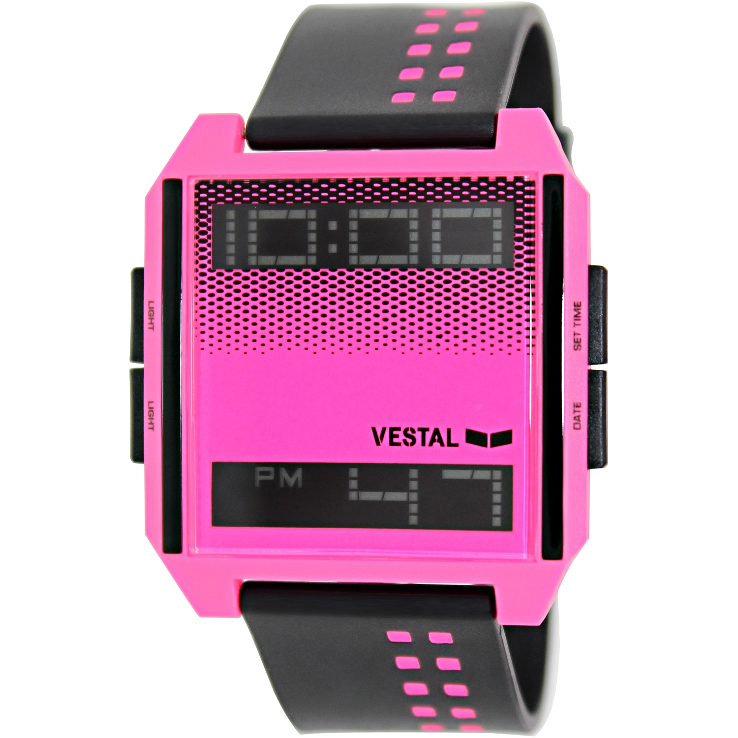 Vestal Women's Digichord DIG025 Digital Plastic Quartz Watch