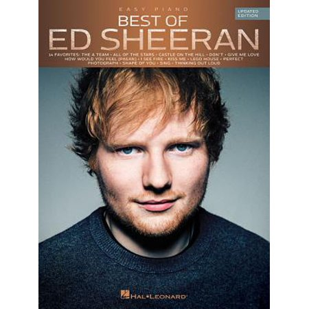 Easy Piano Lyrics - Best of Ed Sheeran for Easy Piano : Updated Edition