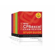 Wiley CPAexcel Exam Review Study Guide 4 Volume Set