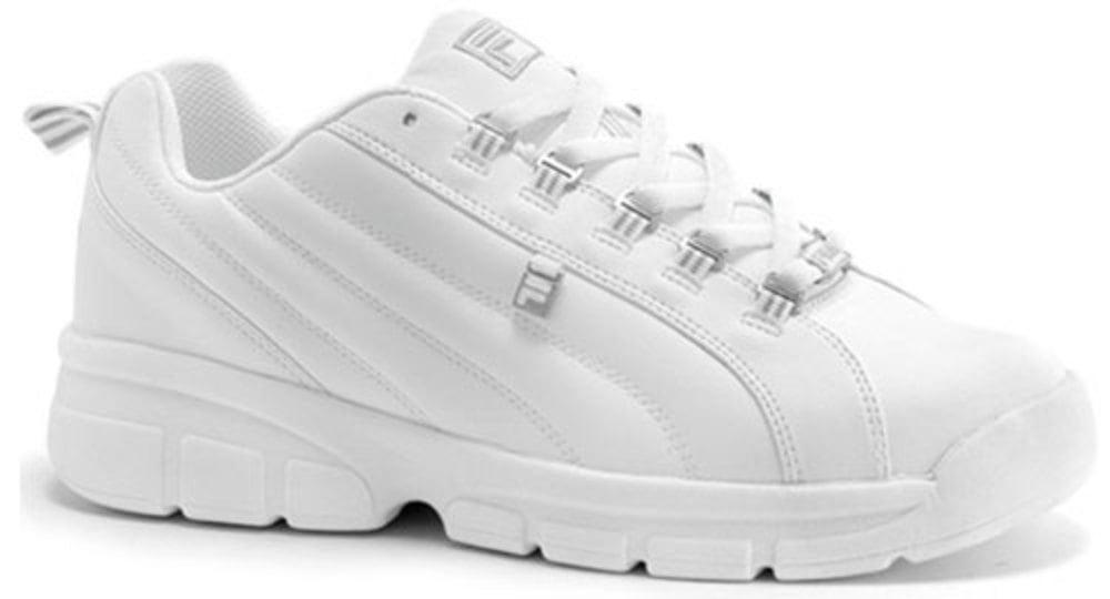 Fila Mens Exchange 2K10 Leather Retro Fashion Sneakers by Fila