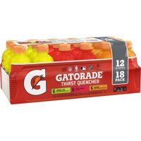Gatorade Thirst Quencher Sports Drink, Variety Pack, 12 oz Bottles, 18 Count