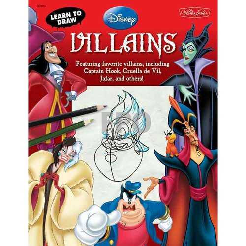 Learn to Draw Disney Villains