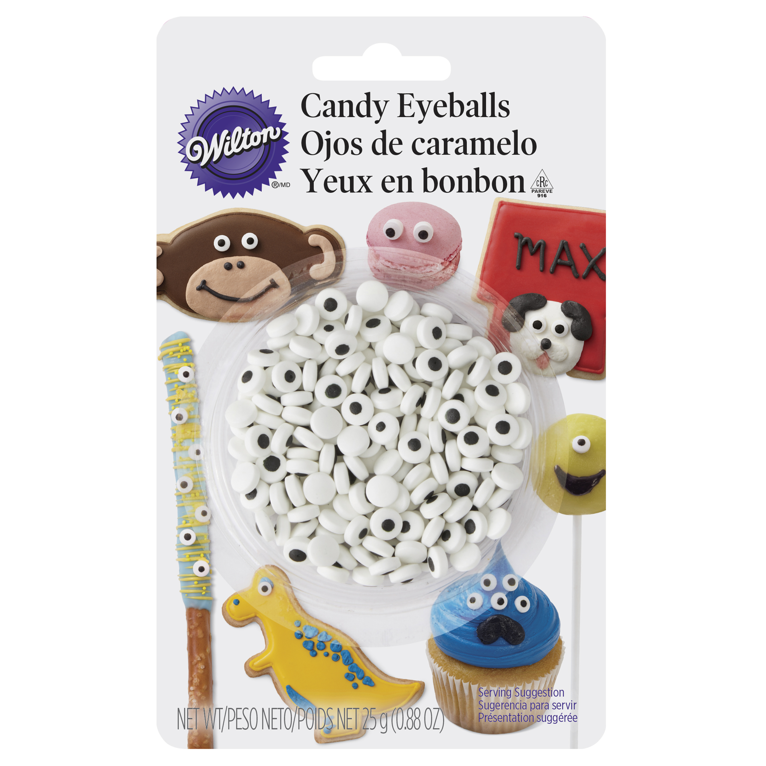 Wilton Candy Eyeballs, 0.88 oz. - Candy Decorations
