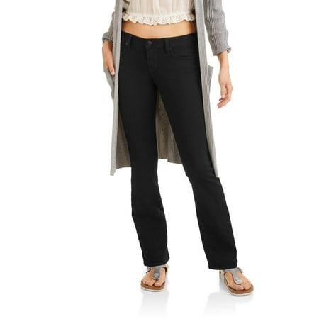 4ce0d5c25a396 No Boundaries - Juniors' Classic Slim Bootcut Jeans - Walmart.com