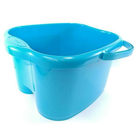 Ohisu Blue Foot Basin for Foot Bath, Soak, or Detox Herbal Foot Bath