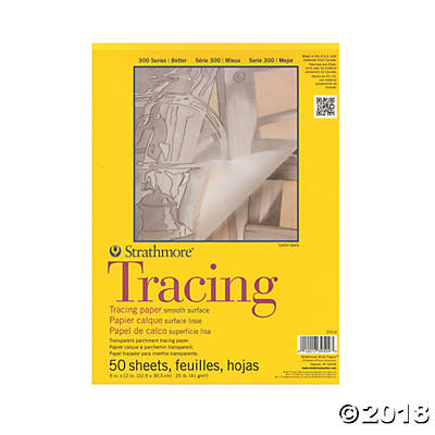 300 Series Tracing Paper Pad 9x12(pack of 1)