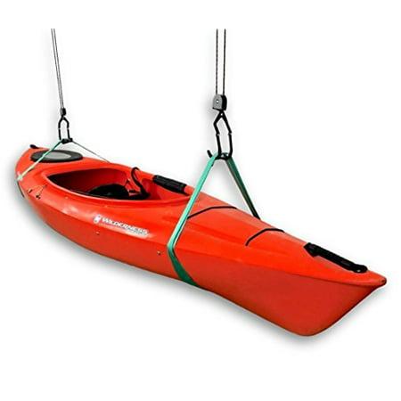 (Kayak Ceiling Storage Hoist - Hi-Lift Home & Garage Hanging Pulley Rack System)
